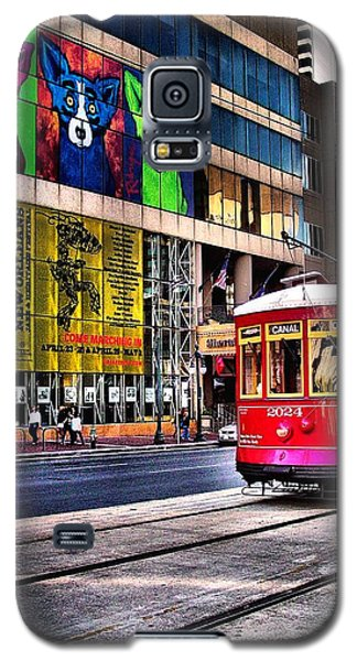 Galaxy S5 Case featuring the photograph Trolley Time by Robert McCubbin
