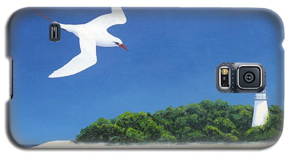 Tropic Bird And Light House Galaxy S5 Case