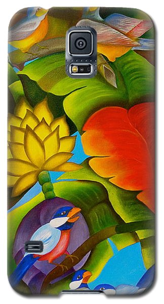 Tropic Galaxy S5 Case by Fanny Diaz