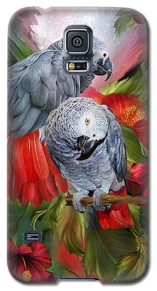 Tropic Spirits - African Greys Galaxy S5 Case