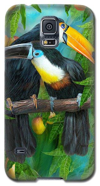 Tropic Spirits - Toucans Galaxy S5 Case