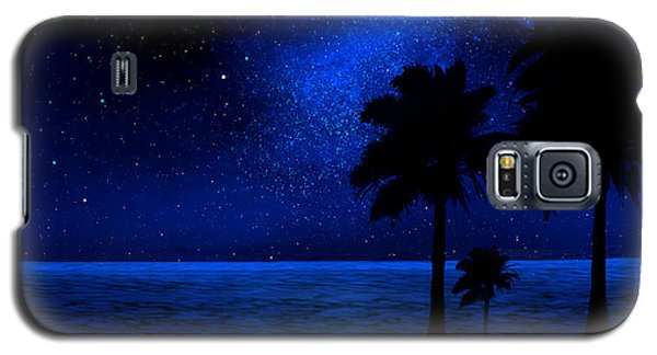 Tropical Beach Wall Mural Galaxy S5 Case