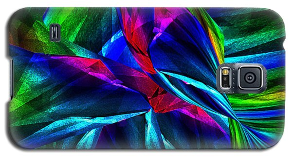 Tropical Bird Sits On A Tropical Tree Galaxy S5 Case