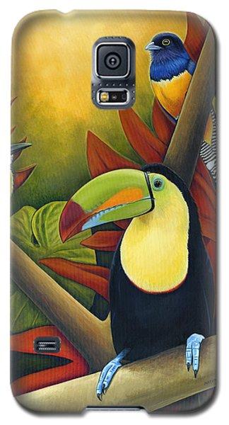 Tropical Birds Galaxy S5 Case