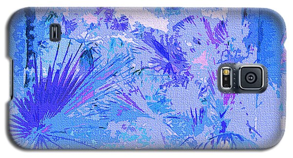 Tropical Blue Galaxy S5 Case by Ann Johndro-Collins
