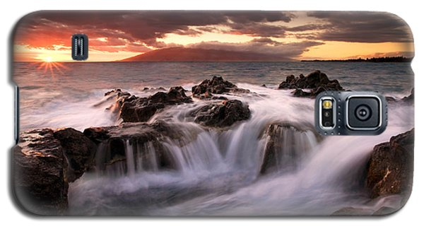 Galaxy S5 Case featuring the photograph Tropical Cauldron by Mike  Dawson