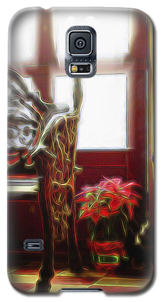 Galaxy S5 Case featuring the digital art Tropical Drawing Room 1 by William Horden