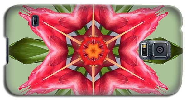 Tropical Flower Mandala Galaxy S5 Case