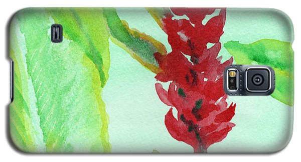 Tropical Flowers 2 Galaxy S5 Case