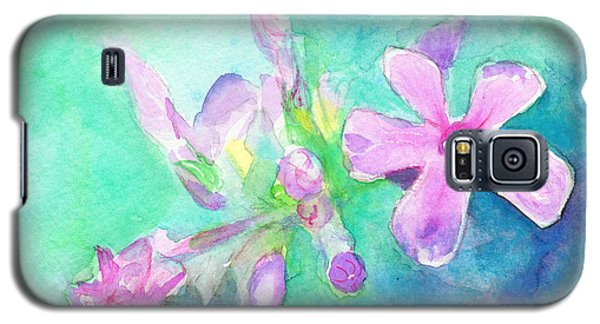 Tropical Flowers Galaxy S5 Case by C Sitton