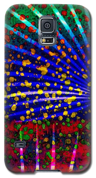 Tropical Fusion Palm Galaxy S5 Case by Darla Wood