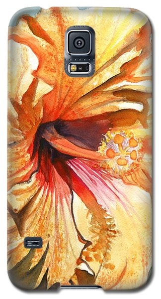 Tropical Hibiscus 3 Galaxy S5 Case