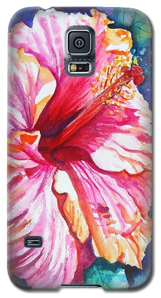 Tropical Hibiscus 4 Galaxy S5 Case