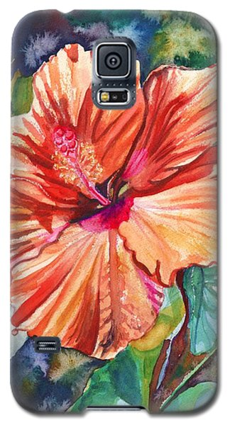 Tropical Hibiscus 5 Galaxy S5 Case