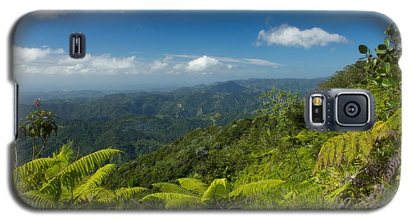 Galaxy S5 Case featuring the photograph Tropical Highlands by Jose Oquendo