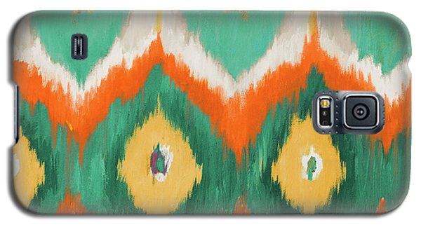 Tropical Ikat II Galaxy S5 Case by Patricia Pinto