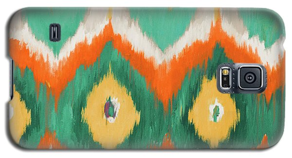 Beach Galaxy S5 Case - Tropical Ikat II by Patricia Pinto