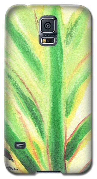 Tropical Leaf Galaxy S5 Case