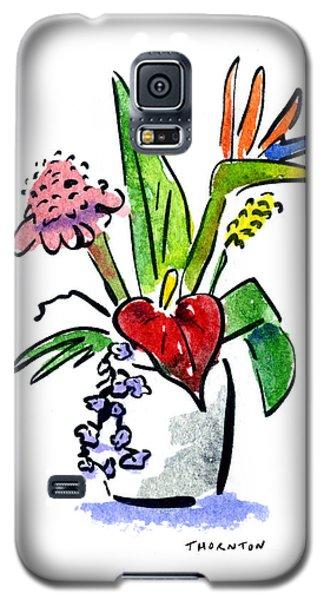 Tropical Mix Galaxy S5 Case