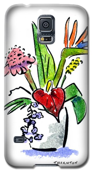 Tropical Mix Galaxy S5 Case