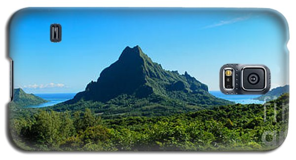 Tropical Moorea Panorama Galaxy S5 Case