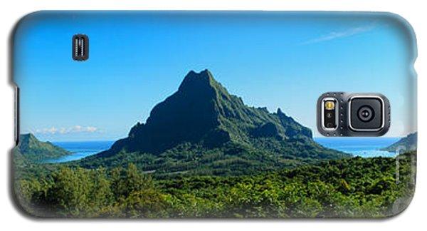 Tropical Moorea Panorama Galaxy S5 Case