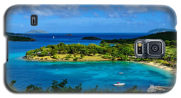 Galaxy S5 Case featuring the photograph Tropical Paradise In The Virgin Islands by Greg Norrell