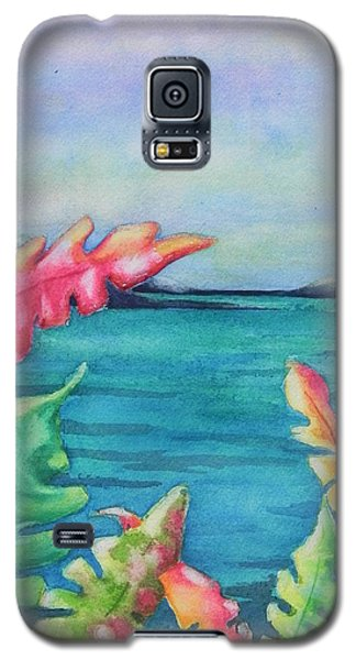 Tropical Scene Galaxy S5 Case