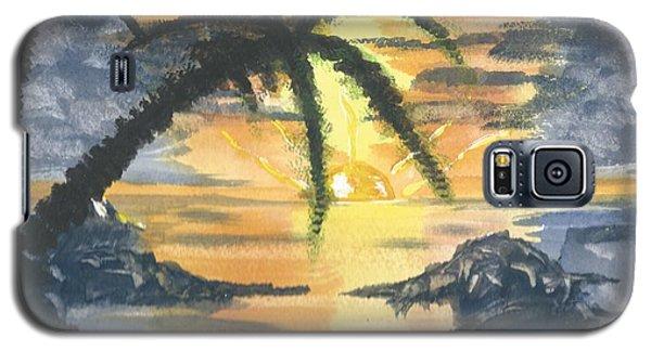 Tropical Sun Galaxy S5 Case