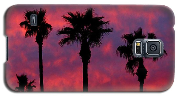 Tropical Sunset Galaxy S5 Case by Laurel Powell