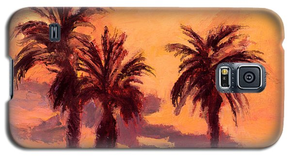 Tropical Trees Galaxy S5 Case