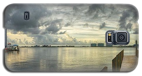 Tropical Winds In Orange Beach Galaxy S5 Case by Michael Thomas