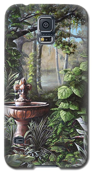 Florida Tropical Garden Galaxy S5 Case