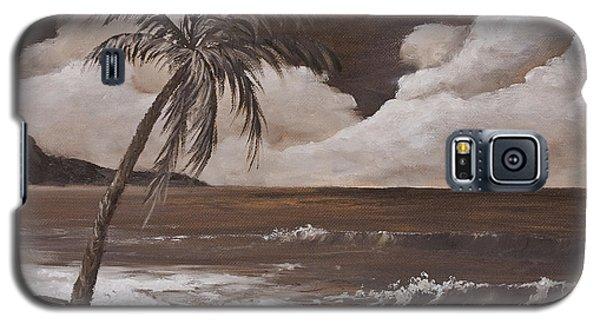 Tropics In Brown Galaxy S5 Case