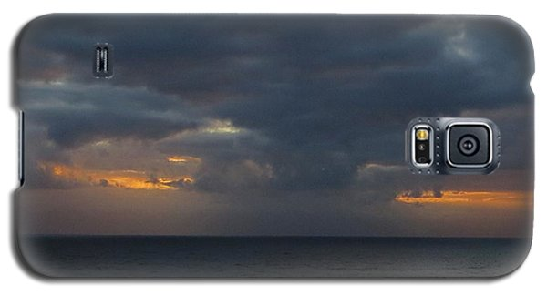 Galaxy S5 Case featuring the photograph Troubled Skies by Jennifer Wheatley Wolf