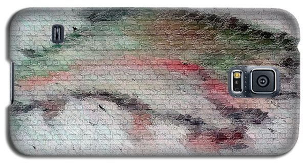Galaxy S5 Case featuring the drawing Trout 2 by Ayasha Loya