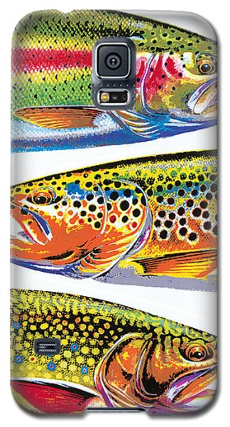 Trout Galaxy S5 Case - Trout Abstraction by JQ Licensing