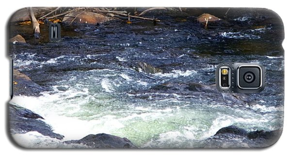 Galaxy S5 Case featuring the photograph Trout River by Jackie Carpenter