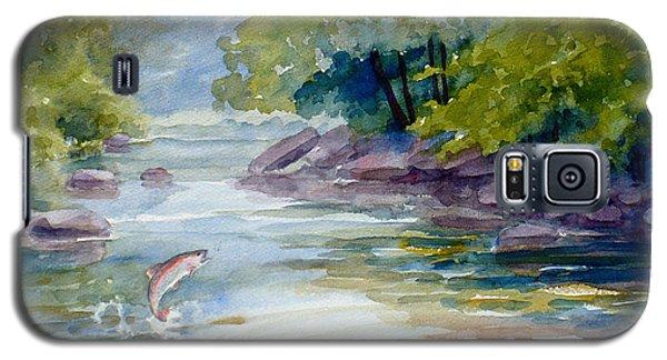 Trout Stream Galaxy S5 Case