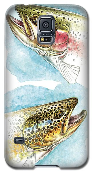 Trout Study Galaxy S5 Case by JQ Licensing