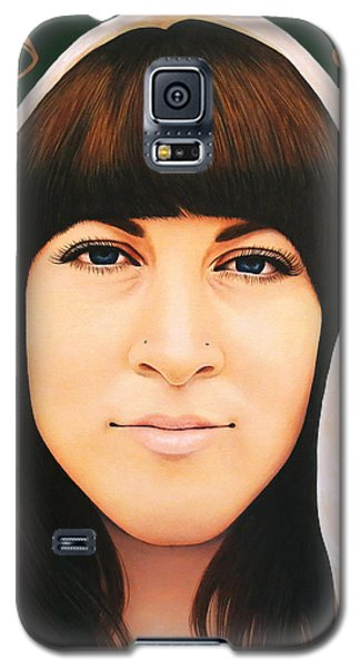 Galaxy S5 Case featuring the painting True Beauty - Alisha Gauvreau by Malinda Prudhomme