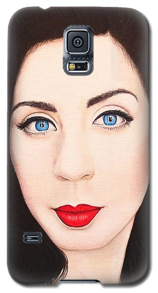 Galaxy S5 Case featuring the painting True Beauty - Lisa Boros by Malinda Prudhomme