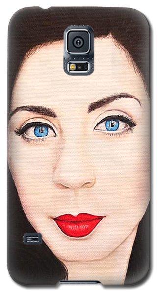 True Beauty - Lisa Boros Galaxy S5 Case by Malinda Prudhomme