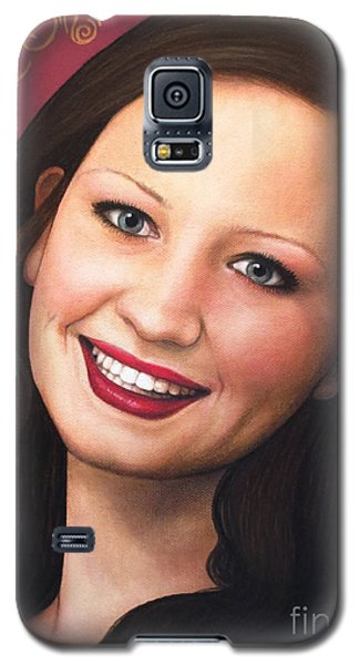 Galaxy S5 Case featuring the painting True Beauty - Tasha Rissling by Malinda Prudhomme