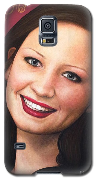 True Beauty - Tasha Rissling Galaxy S5 Case by Malinda Prudhomme