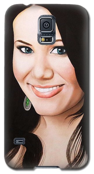 True Beauty - Vivian Bro Galaxy S5 Case by Malinda Prudhomme