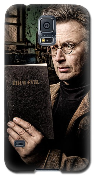 True Evil - Science Fiction - Horror Galaxy S5 Case
