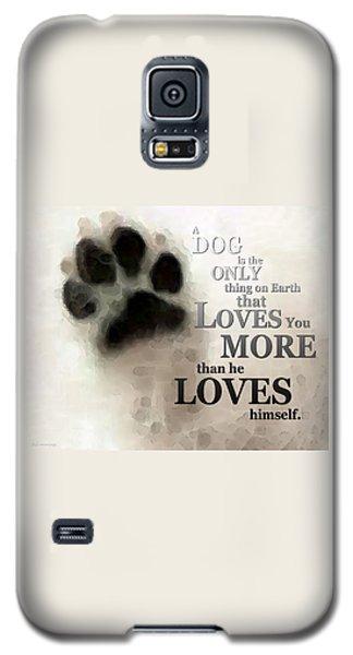 Prairie Dog Galaxy S5 Case - True Love - By Sharon Cummings Words By Billings by Sharon Cummings