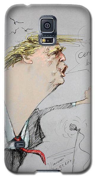 Trump In A Mission....much Ado About Nothing. Galaxy S5 Case by Ylli Haruni