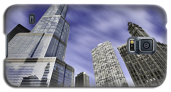 Trump Tower And Wrigley Building Galaxy S5 Case by Sebastian Musial